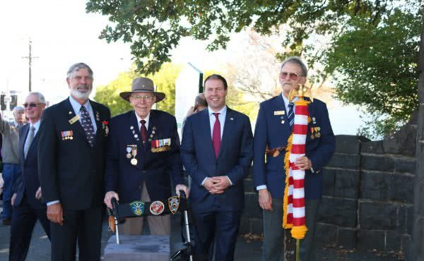 Anzac Day Services in Kooyong