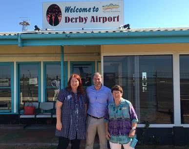 Visit to Kalgoorlie, Collie, Derby and Broome in Western Australia