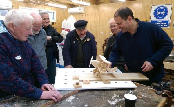 Hawthorn Men's Shed Open Day