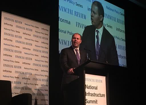 Representing the Prime Minister at the Financial Review's National Infrastructure Summit