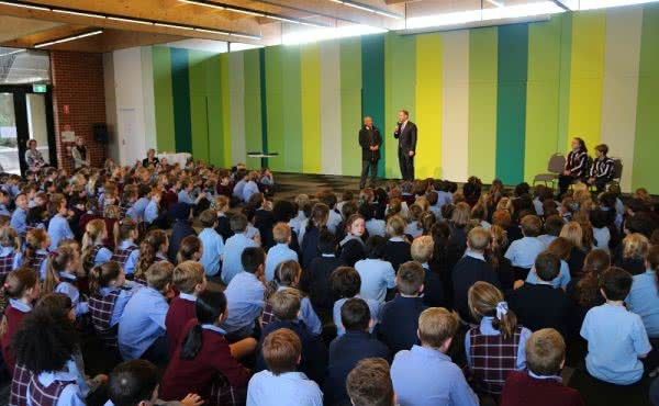 St Joseph's Hawthorn whole school assembly