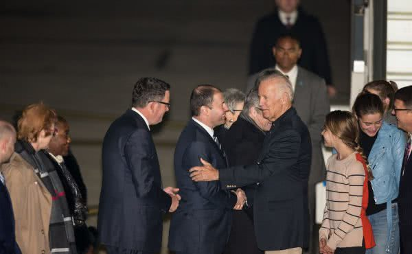 Welcoming United States Vice President Joe Biden to Australia