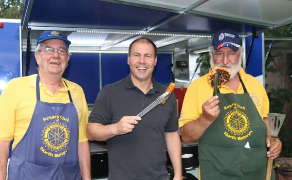 Rotary Club of North Balwyn BBQ Trailer Launch