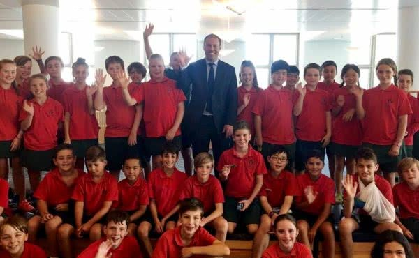 Belle Vue Primary School visits Parliament House
