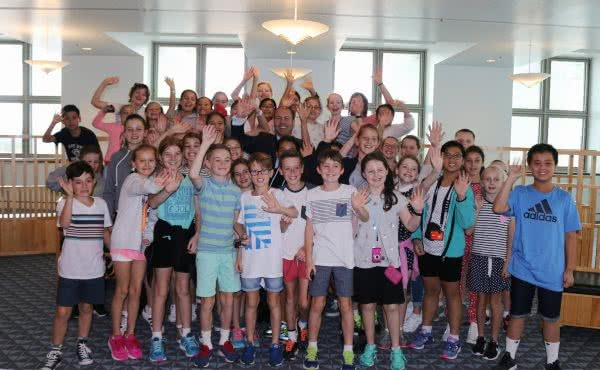 Sacred Heart Primary School visits Parliament House