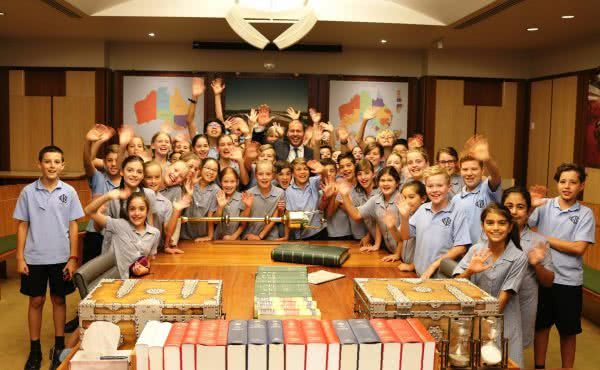 Our Lady of Good Counsel School visits Parliament House