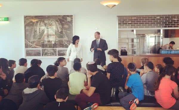 Mount Scopus Memorial College visits Parliament House