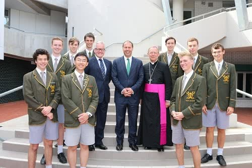 Opening the Centre for Business & Social Enterprise at Trinity Grammar School