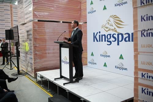 Kingspan Insulation Facility Opening
