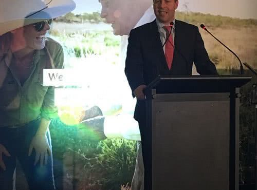 Speech at Greening Australia 35th anniversary celebration