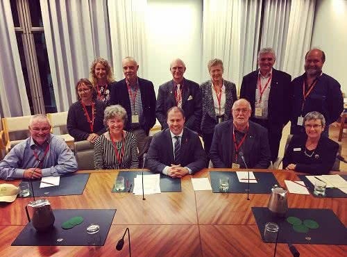 Meeting with the National Landcare Network