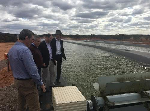 Visit to Muradel algae to biofuel project