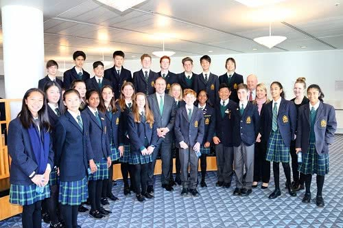Balwyn High School and Deepdene Primary School visit Parliament House