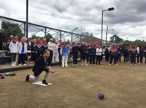 Opening of new bowls season