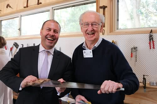 Opening of the North Balwyn Community Men's Shed