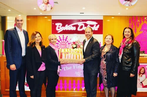 BCNA and Bakers Delight Pink Bun campaign