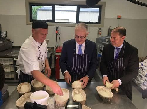 Visit to The Baker at Sutton with Prime Minister