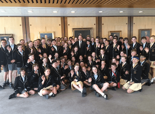 Visit from Carey Baptist Grammar School