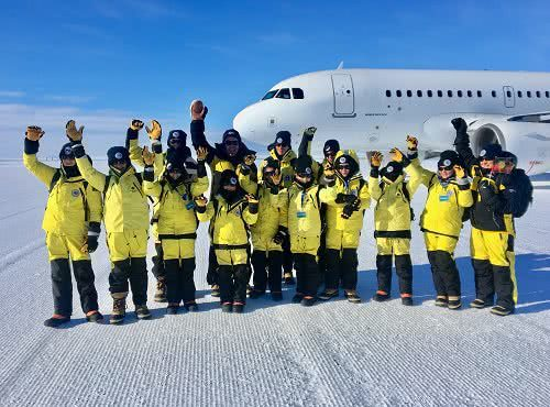 Visit to Antarctica with winners of the Name our Icebreaker competition