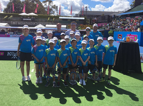 Officially opening the Kooyong Classic
