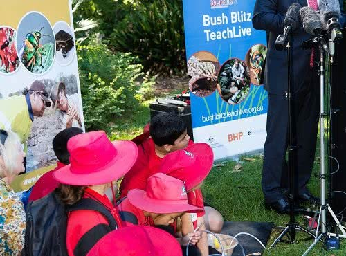 Announcement of further support for Bush Blitz