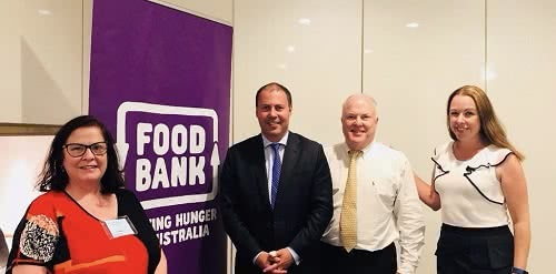 Meeting with Foodbank Australia