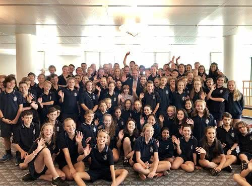 Hartwell Primary School visits Parliament House