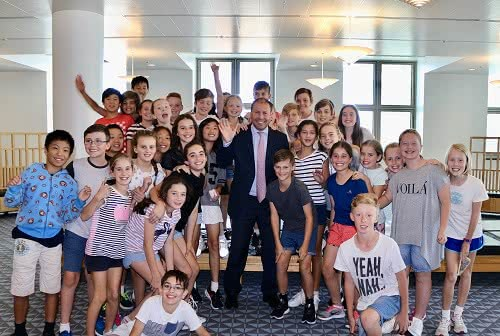 Our Holy Redeemer School visits Parliament House