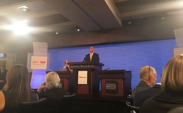 Address to the National Press Club