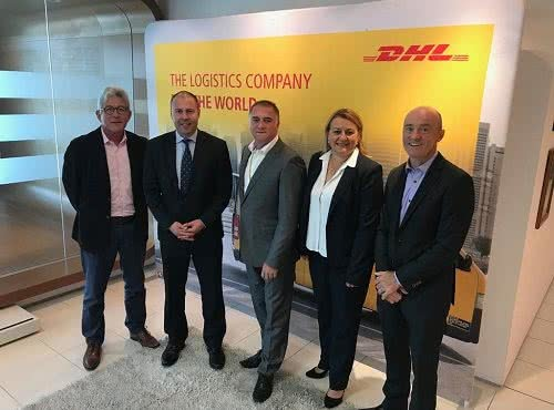 Meeting with DHL Express about electric vehicles