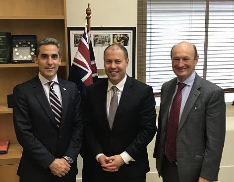Meeting with Argentina's Undersecretary for Mining and Energy and Ambassador to Australia