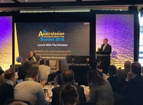 Keynote speech at 5th Australasian Emissions Reduction Summit