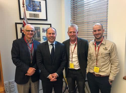 Meeting with Birdlife Australia