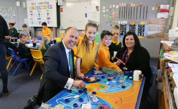Visiting St Bridget's Primary School for World Environment Day 2018