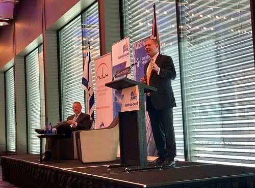 Address and Q&A at Australian Israel Chamber of Commerce lunch