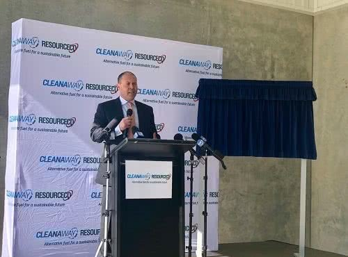 Opening of waste to energy facility in Western Sydney
