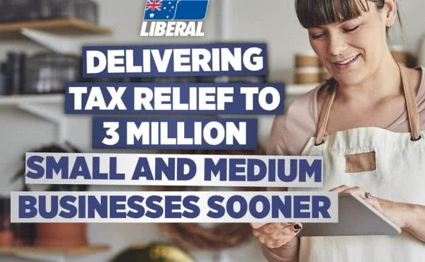 Tax relief five years earlier for small & medium-sized businesses