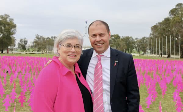 BCNA Field of Women at Parliament House