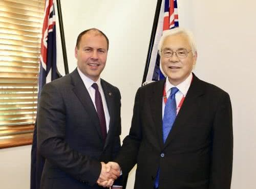 Farewelling Ambassador Kusaka of Japan
