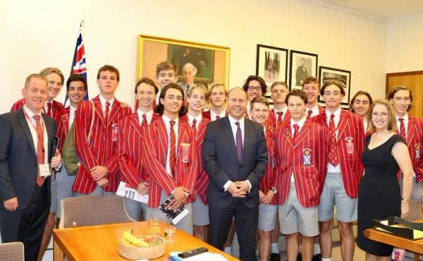 Scotch College's Year 12 Politics class visits Parliament House