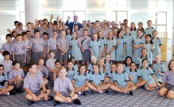 St Bede's Primary School visits Parliament House