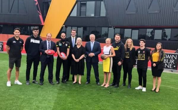 New education hub for young Indigenous students & members of the Bachar Houli Academy