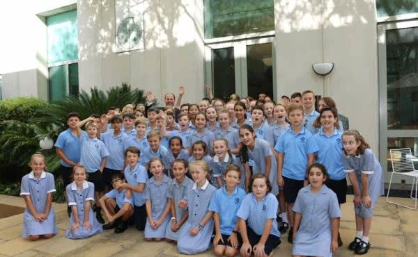 Our Lady of Good Counsel Primary School Deepdene visits Parliament House