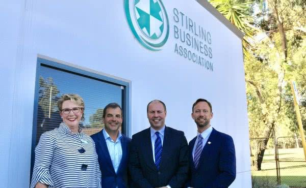 Round table discussion with the Stirling Business Association