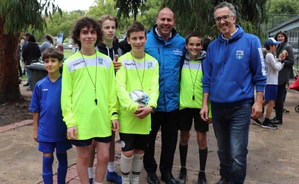 Visit to Riversdale Soccer Club