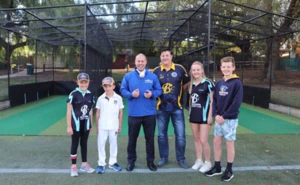 New nets for Boroondara Cricket Club