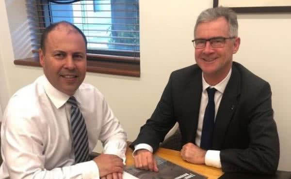 Meeting with James Pearson, CEO of Australian Chamber