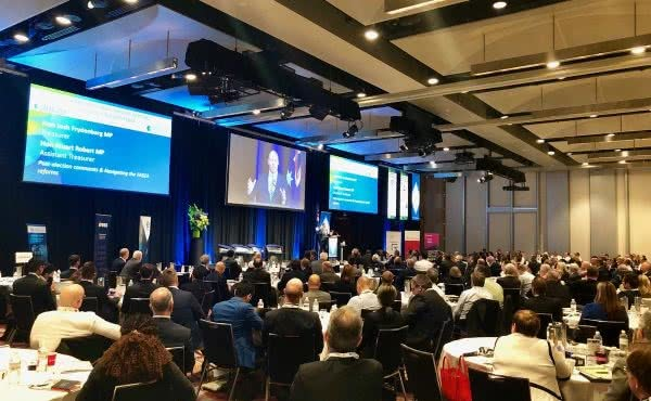 Speaking at the Stockbrokers & Financial Advisers Association conference