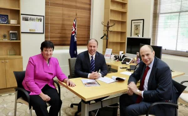 Meeting with CEO of Business Council of Australia & President Grant King