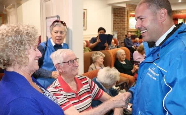 Visit to The Gables Residential Aged Care